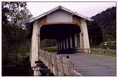 Grave Creek Bridge  -- Josephine County, Oregon