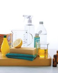 Clean Green:  DIY recipes for Natural Cleaning Products from Martha Stewart. Non-toxic and affordable. Fantastic!