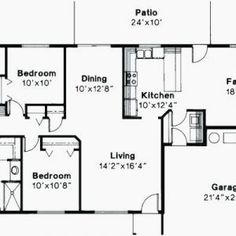 House Plan Briardale No 3441 4 Bedroom House Plans, Floor Plans, Decor Ideas, House Design, How To Plan, Luxury, Gallery, Home Decor, Interior Design