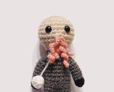 Dr Who Ood amigurumi - want!!!