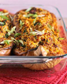 Connection+Recipe:+Quinoa,+Kale+&+Bacon+Stuffed+Butternut+Squash