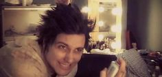 This is from the Nightmare video shoot. Syn Gates... sexiest mental patient EVER!