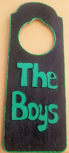 The Boys Door Hanger was created simply for moms who have little guys that share a room. This door hanger is suitable for infants and school age boys