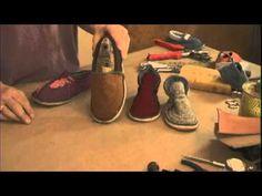 Simple Shoemaking: Fiber Footwear for Children