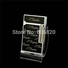 S.T Memorial Dupont lighter Bright Sound! New In Box Serial number T957