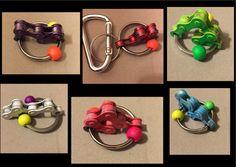 Bike Chain Keyring Therapy Autism Fidget Toy ADHD by RockinFidgets Diy Fidget Toys, Fidget Tools, Diy Toys, Diy For Kids, Gifts For Kids, Kids Fun, Fidget Blankets, Fidget Quilt, Sensory Boxes