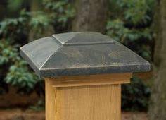 4x4 Oiled Bronze Post Cap