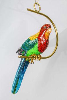 Large Papier Mache Parrot by Sergio Bustamante, 1978 image  $2785.