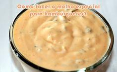 Como fazer molho Chipotle picante do Subway Molho Chipotle, Big Tasty, Food Club, Big Mac, Sweet And Salty, Mcdonalds, Diy Food, Bon Appetit, Cheeseburger Chowder