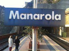 #picoftheday #Manarola #railways