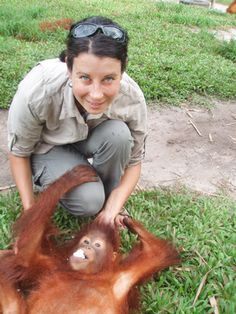 Bravo to Jessica McKelson, who happens to be a trustee of Orangutan Land Trust!