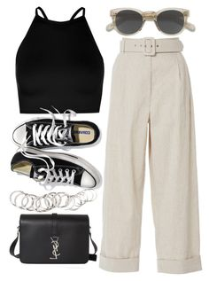 Designer Clothes, Shoes & Bags for Women Cute Casual Outfits, Stylish Outfits, Kpop Fashion Outfits, Summer Outfits Women, Looks Style, Polyvore Outfits, Daily Fashion, Korean Fashion, Ideias Fashion