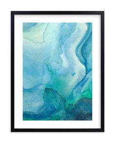"""""""Under Water"""" - Art Print by Chelsey Scott in beautiful frame options and a variety of sizes."""
