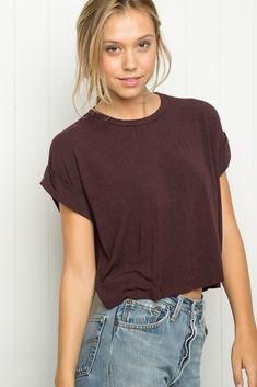 Brandy ♥ Melville | Caleigh Top - Tees - Tops - Clothing