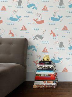 sweet whale wallpaper
