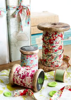 lovely fabric scraps