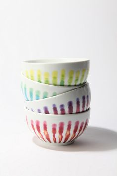 UrbanOutfitters.com > Streak-Dye Bowl    Goes with my current tie dye obsession