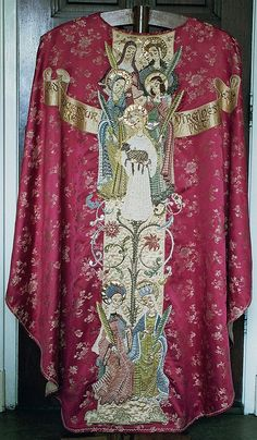 Chasuble  Dutch  Produced by Hildegard Brom-Fischer  Date: 1955