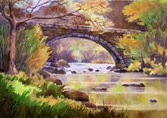 Famous Watercolor Paintings   MARTIN LANDSCAPE ARTIST OIL AND WATERCOLOUR PAINTING