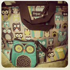 thirty one thermal picnic lunch tote bag 31 life 39 s a hoot owl new gift d things i. Black Bedroom Furniture Sets. Home Design Ideas