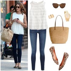 Get the Look by DesignDarling.      Need to pull that shirt out from storage!