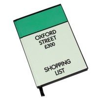This lined, hardback A6 notebook is a must for all Monopoly fans! Designed to look like the iconic Bond Street square on the board, this pad is perfect for jotting down your shopping list!