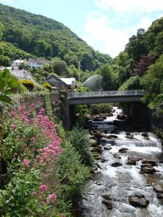Lynton and Lynmouth, Devon, ENGLAND.