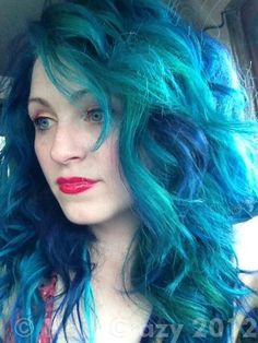 urs -   - -   - Other (Not Listed)   - Sky Blue (Ion Color Brilliance) #mermaidhair