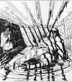 conan_the_rogue_sketches john buscema Comic Book Artists, Comic Artist, Comic Books Art, Jack Kirby, Fantasy World, Fantasy Art, Westerns, Tracing Art, Black And White Artwork