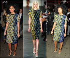 Solange Knowles Ankara Style To Steal-Afrocosmopolitan-african-fashion-7 Ankara Fashion, African Print Fashion, Fashion Prints, Fashion Styles, Bella Wedding Dress, Agbada Styles, Ankara Skirt And Blouse, Ankara Gowns, Solange Knowles