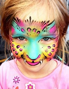 neo color 11 watercolor crayons | Face painting ideas for the kids
