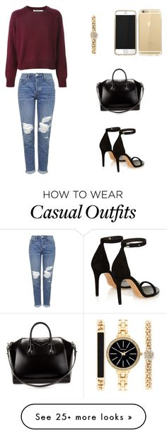 """""""Classy casual"""" by sippy1260 on Polyvore featuring Topshop, Isabel Marant, Givenchy and Style & Co."""