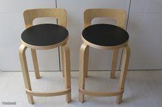 Artek K65 Bar Stools, Furniture, Design, Home Decor, Bar Stool Sports, Decoration Home, Room Decor, Counter Height Chairs
