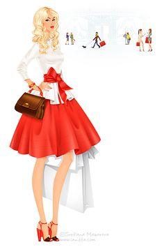 Girl in Fashion by ~lanitta on deviantART