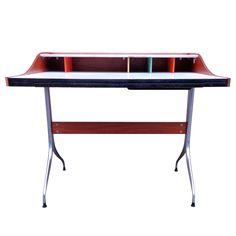 Swaged-leg desk. George Nelson for Herman Miller, c. 1954