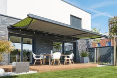 Cassette awnings: markilux MX-1