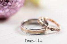 Argollas de matrimonio: Argolla de caballero combinada en oro rosa y blanco. Churumbela fabricada en oro rosa con diamantes