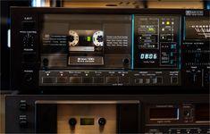 Vintage Cassette Deck and Boombox Nakamichi Technics Sony Akai JVC Repair Exploitation Adjusting Photo Alpine Audio, Hifi Audio, Cassette Tape, Boombox, Portuguese, Decks, Gin, Gadgets, Japan