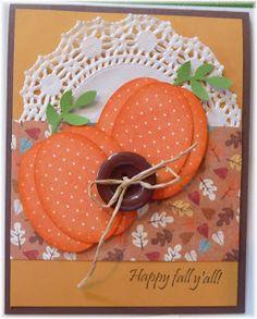 Thanksgiving card using some Stampin Up