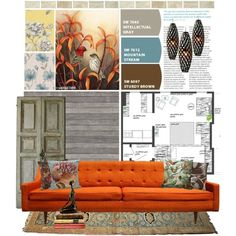"""Top Interior Sets / """"Mood Board: Paint swatches 02"""" by clothesmonkey... via Polyvore"""