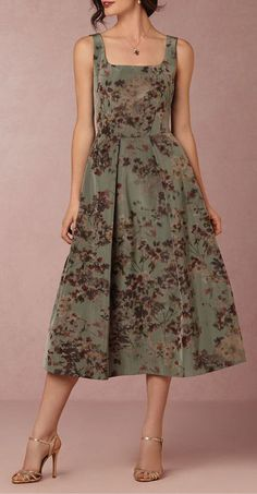 Olympia Dress - Like this style/pattern of dress, but would change the fabric