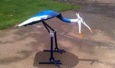 Shovel/ bird diy