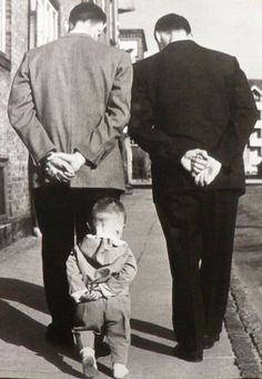 Photo by Robert Doisneau my favorite photographer! His photos captured his personality very well Love the three generations represented.