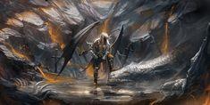 Dragon Tamed by sakimichan.deviantart.com