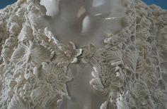 how to, irish crochet mesh   ... irish crochet jacket $ 875 charming antique hand done irish crochet
