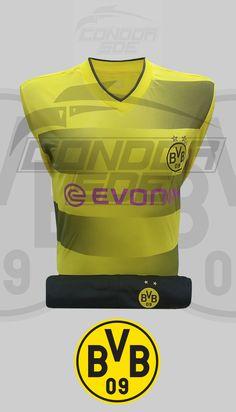Borussia Dortmund siempre buscando ser uno de los mejores equipos de fútbol del mundo.#borussiadortmund #fútbol #camiseta #uniformes #accesorios #sudaderas Club, Sports, Tops, Fashion, Football Squads, World, Football Team, Sweatshirts, T Shirts