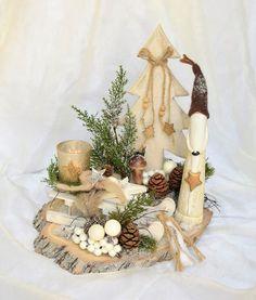Weihnachtsdeko   Tischgesteck Weihnachten   Ein Designerstück Von Sotilala  Bei DaWanda