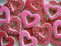 Frosted Heart Cutout Cookies ~ By Johnna Phillips on Flickr. Source: https://www.flickr.com/photos/polka-dotzebra/5448076648/in/photostream