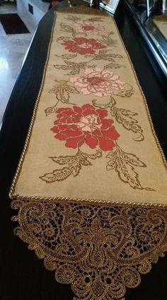 Cross Stitch Embroidery, Cross Stitch Patterns, Crochet Lace, Table Runners, Needlework, Sewing, Rugs, Blog, Beautiful