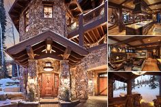 This is just my winter ski lodge... no big deal.